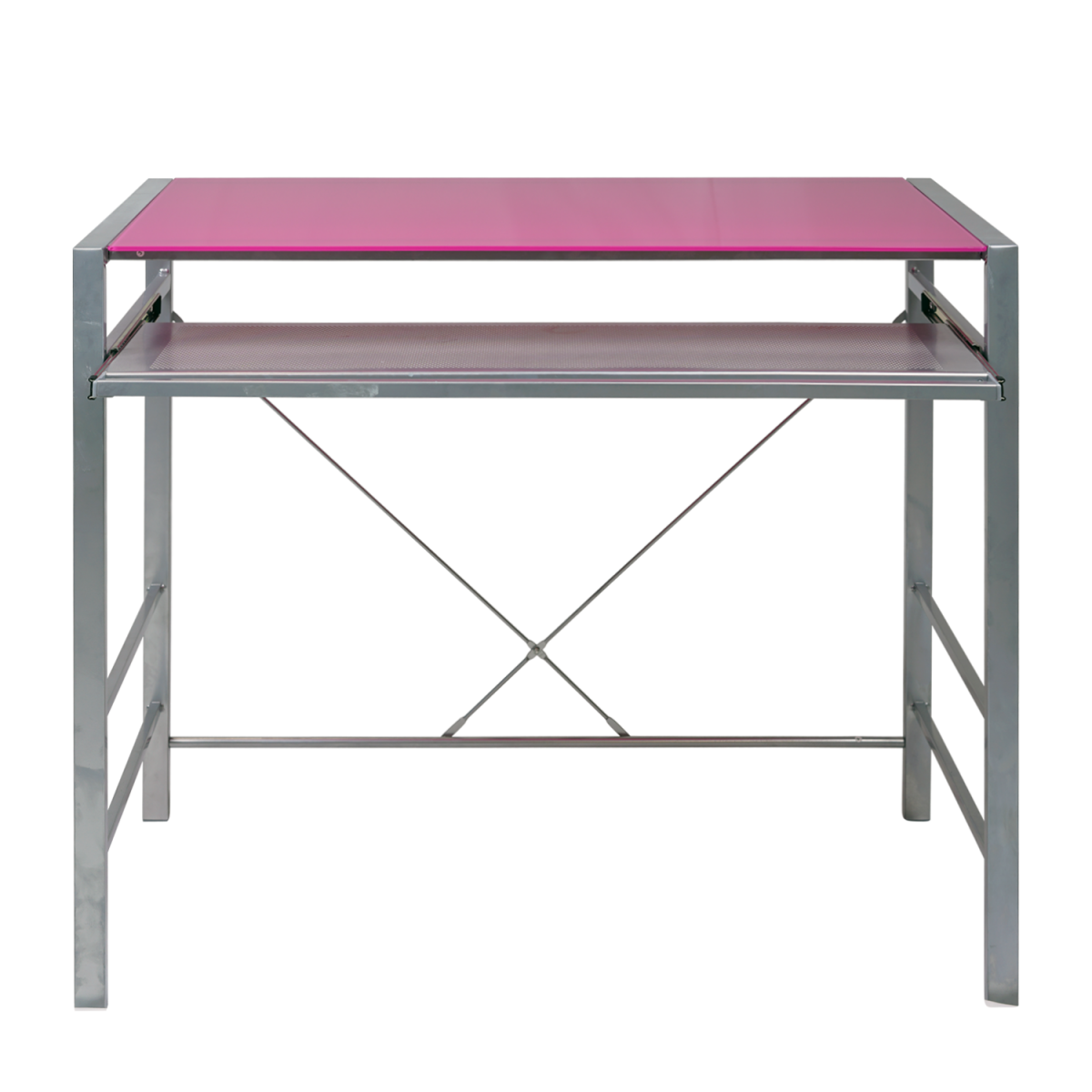 Double Star Furniture Neo Pink Computer Desk Double