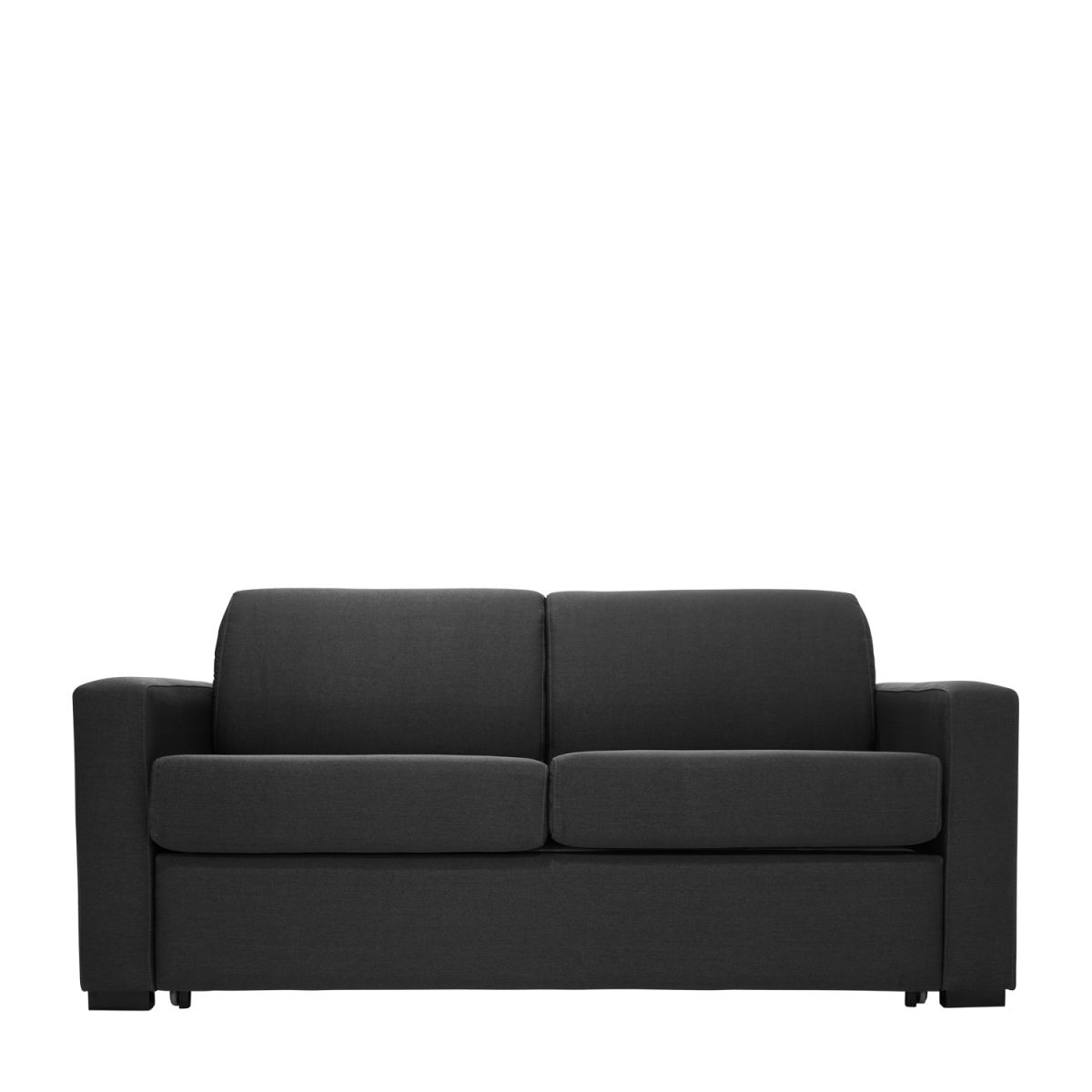 Double bed top view png - Tammy Fabric Sofa Bed Raven Double Star Furniture