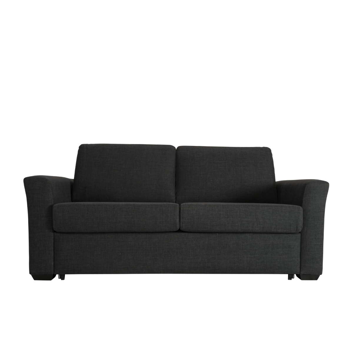 Double Star Furniture Tammy Fabric Sofa Bed Black