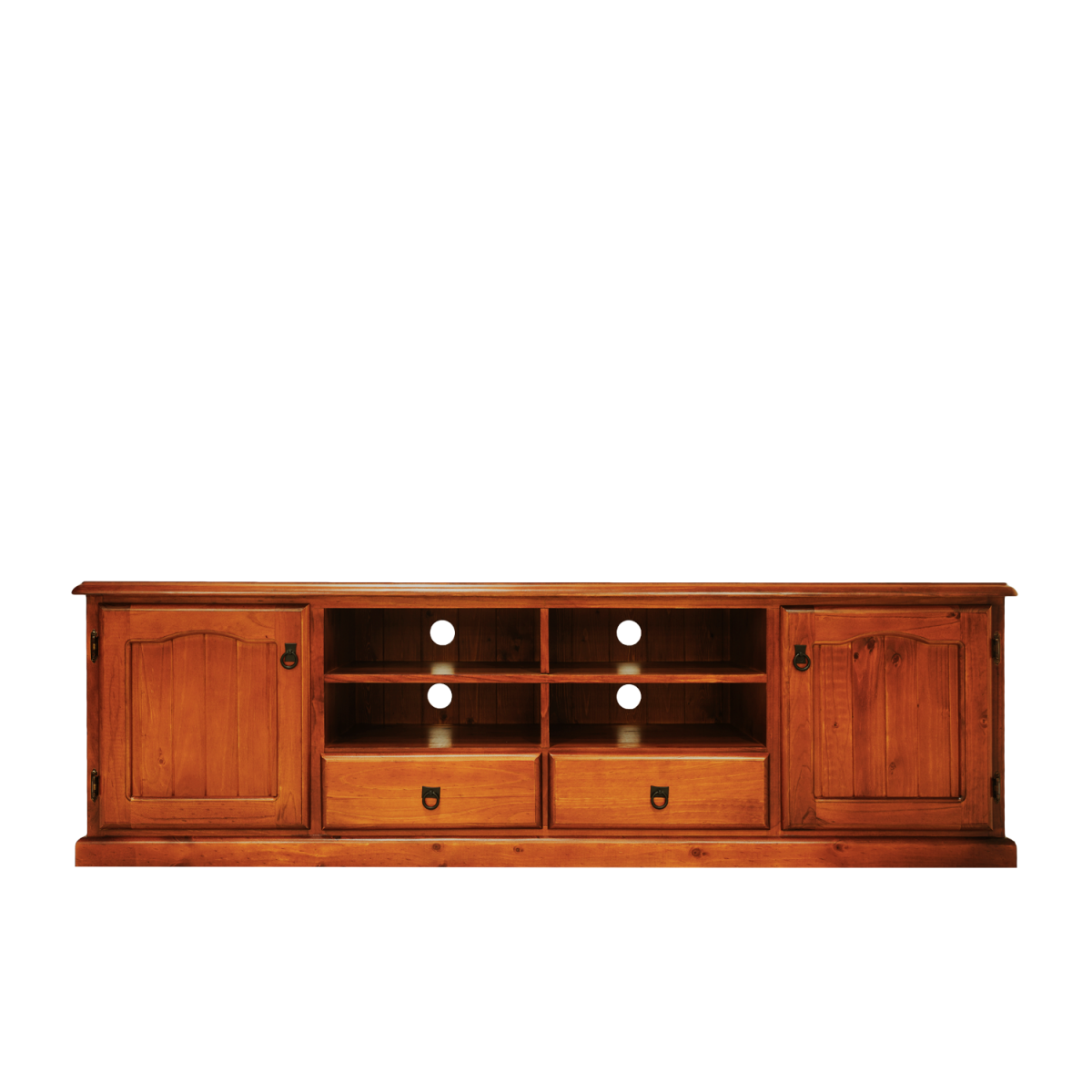 VISTA LOWLINE TV UNIT 1980 TIMBER   Double Star Furniture
