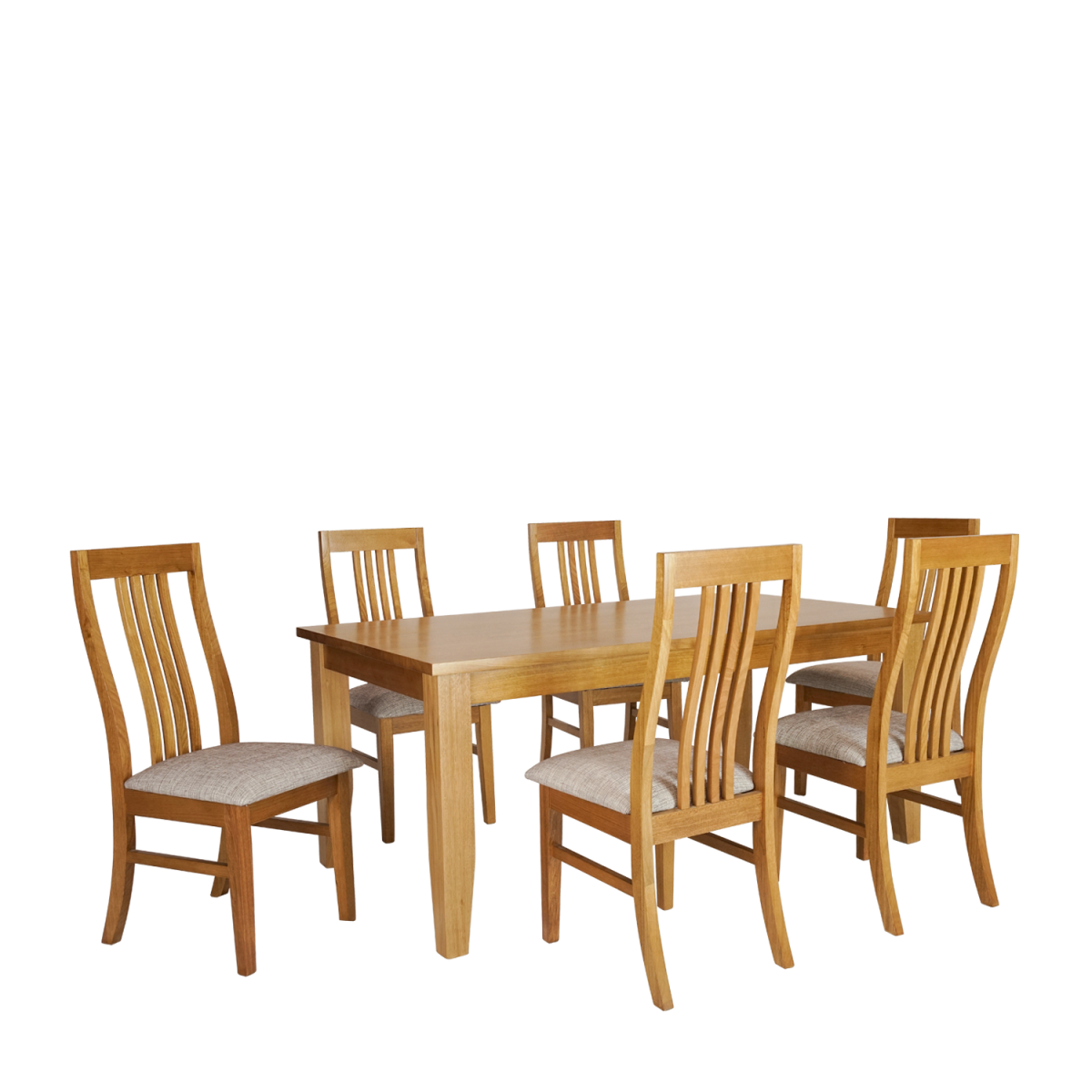 Stella dining set 7 piece double star furniture