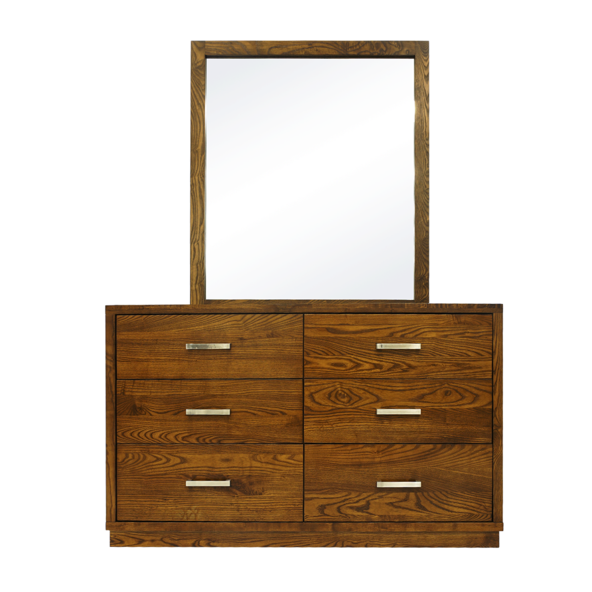Double Star Furniture Library Dressing Table With Mirror