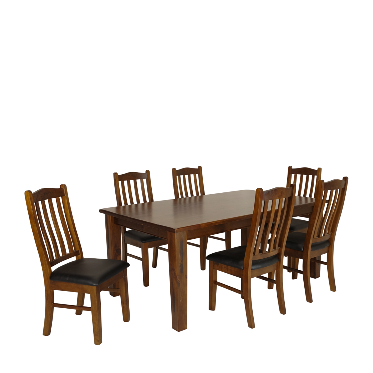 Double star furniture moe dining table 2 1m set 7 piece for E furniture auckland