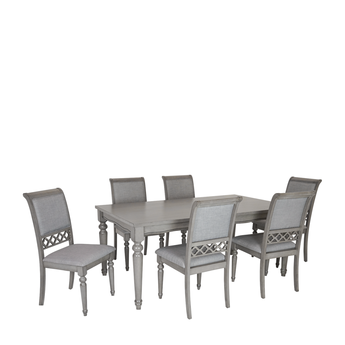 ... Grace 7pc Solid Timber Dining Set   Double Star Furniture ...