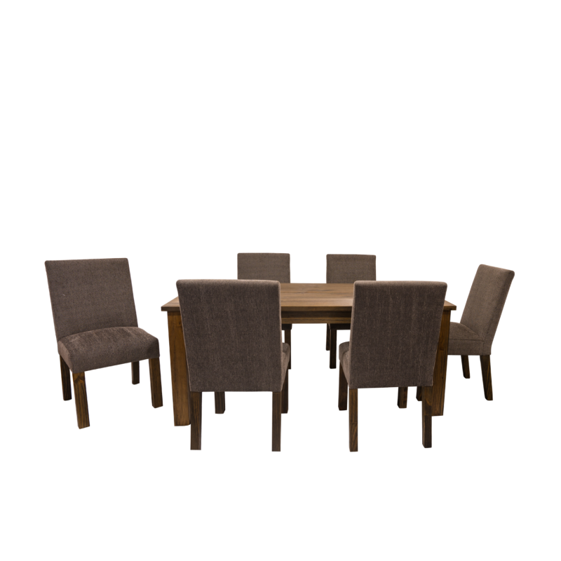 Double star furniture jamison dining set 1 8m 7 piese for E furniture auckland