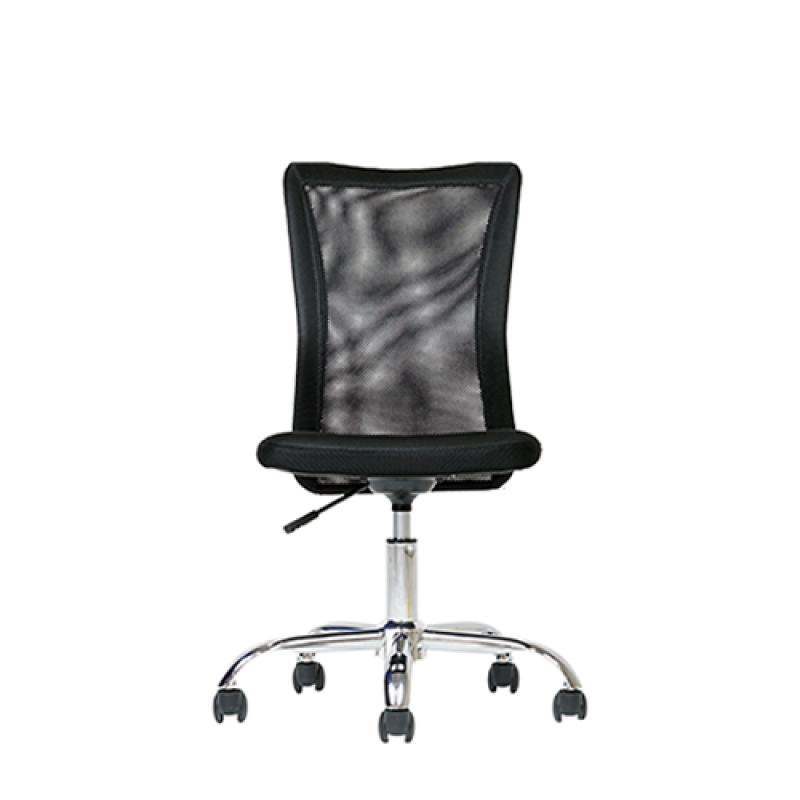 Antrim Black Desk Chair - Double Star Furniture