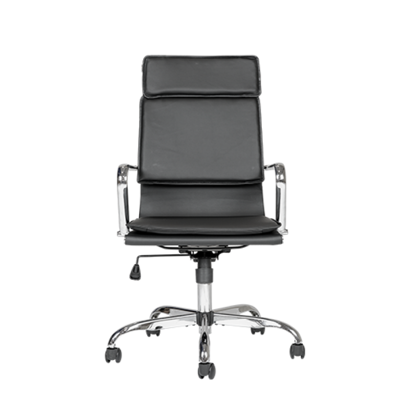 Vince Black Office Desk Chair - Double Star Furniture