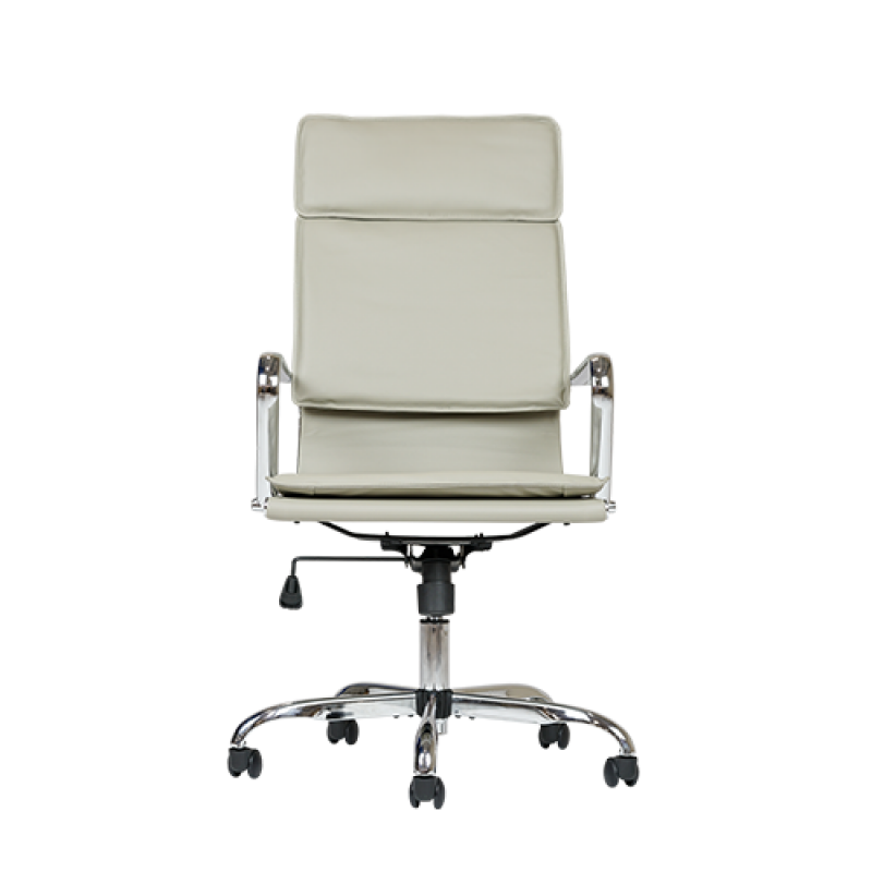 Vince Grey Office Desk Chair - Double Star Furniture