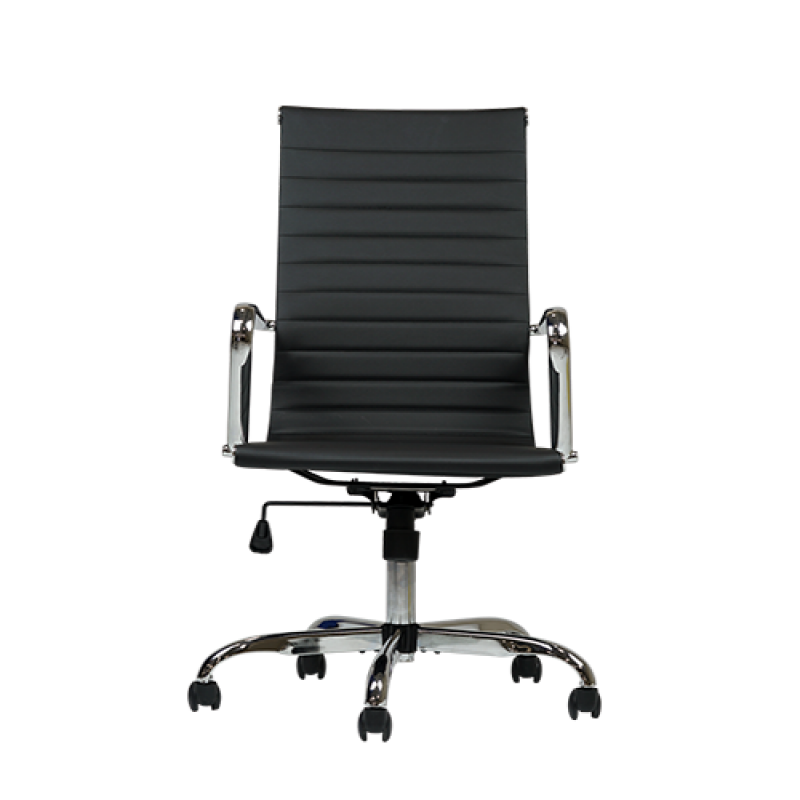 Eames Inspired Black Office Desk Chair - Double Star Furniture