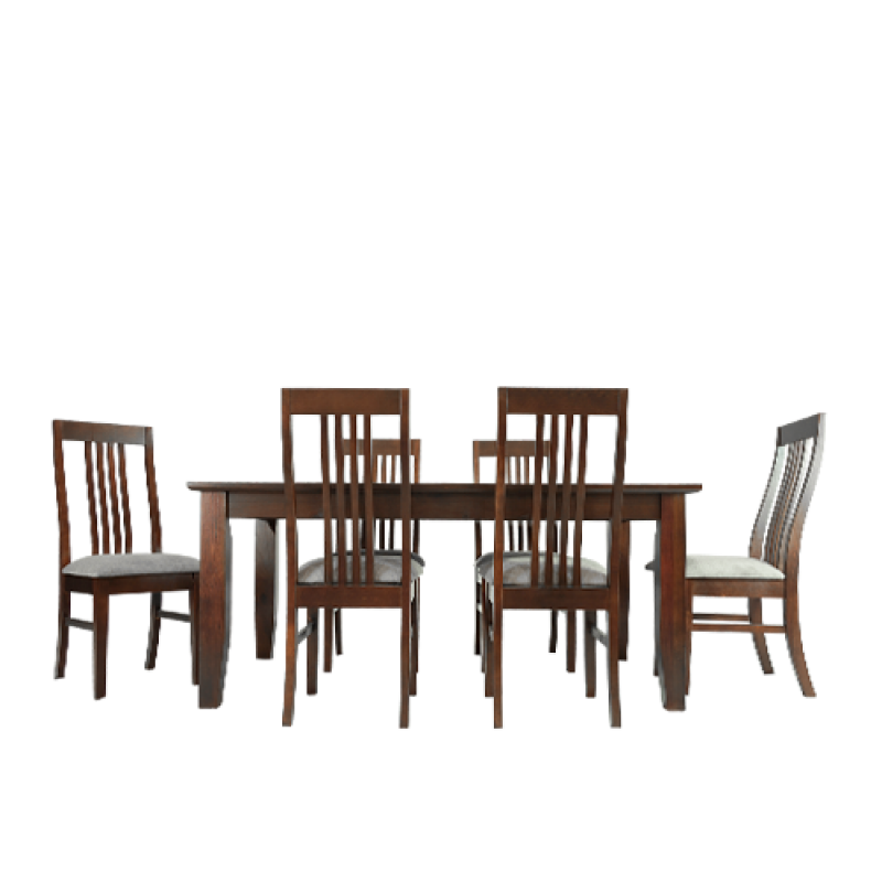 Toulon Dining Set 1.8M 7Piece - Double Star Furniture