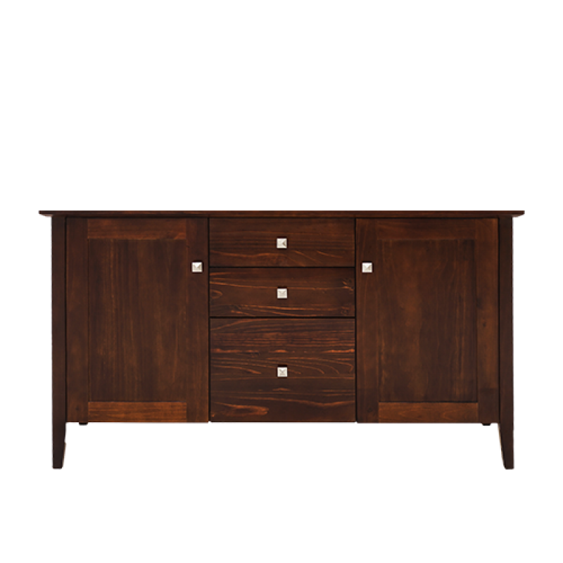 TOULON 2 DOOR 3 DRAWER BUFFET - Double Star Furniture