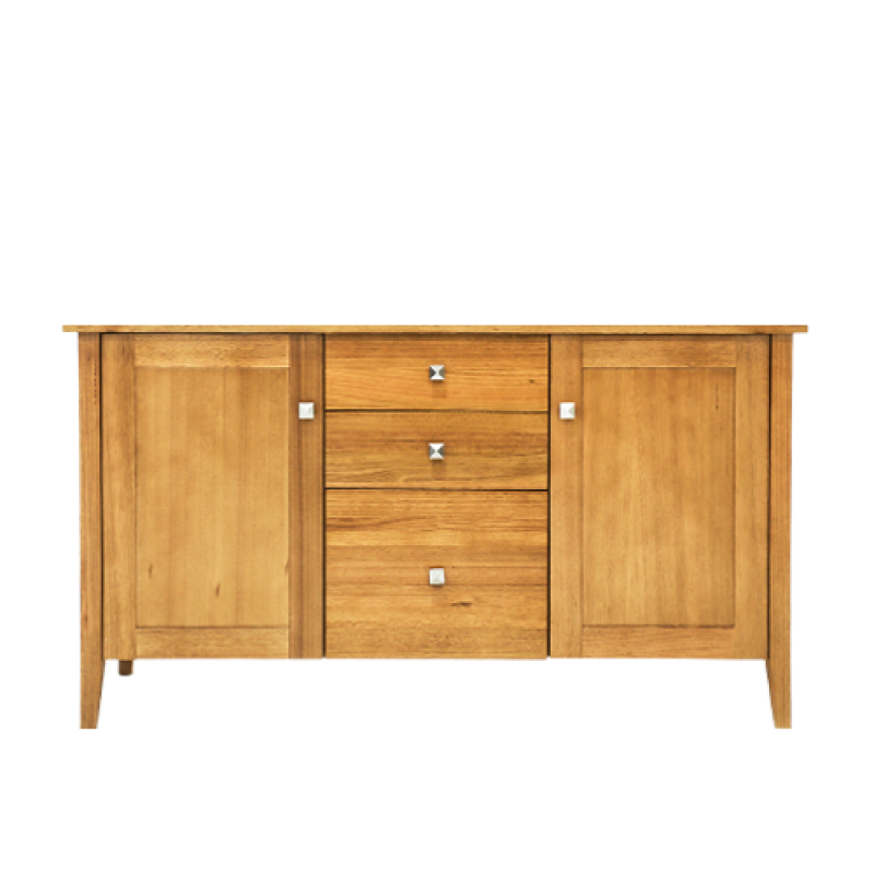 Stella 2 Door 2 Drawer Buffet Table - Double Star Furniture
