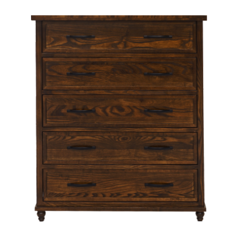 Isabelle 5 DRW Tallboy - Double Star Furniture