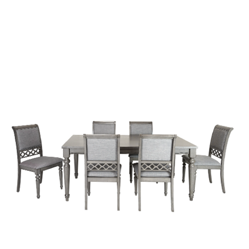 Grace 7pc Solid Timber Dining Set - Double Star Furniture