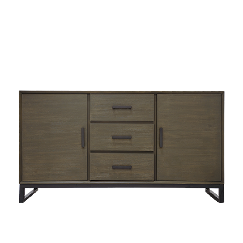 PARRIS SIDE BOARD JADE - Double Star Furniture