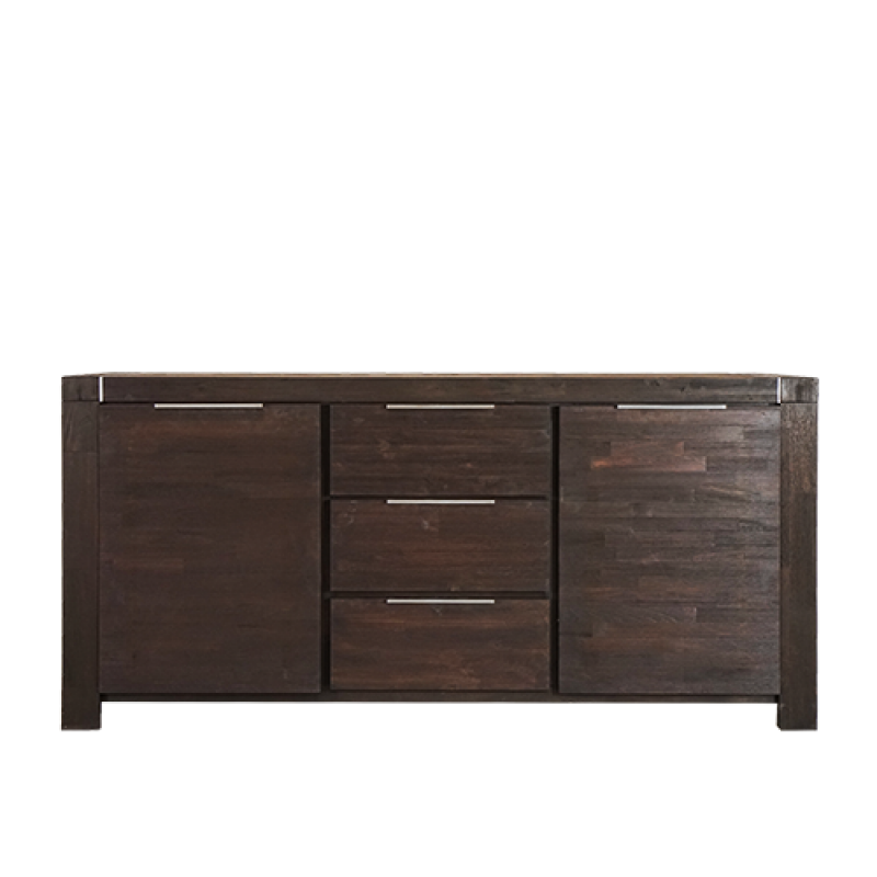 RALPH SIDE BOARD BROWN - Double Star Furniture